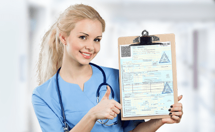 Оформление больничных